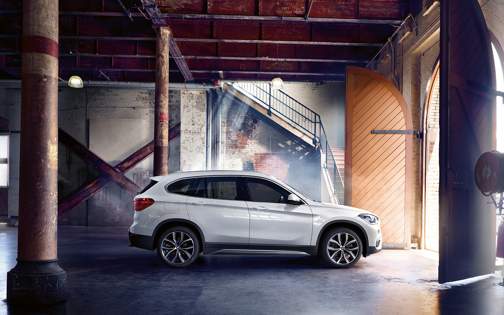 bmw x series x1 2015 wallpaper 01