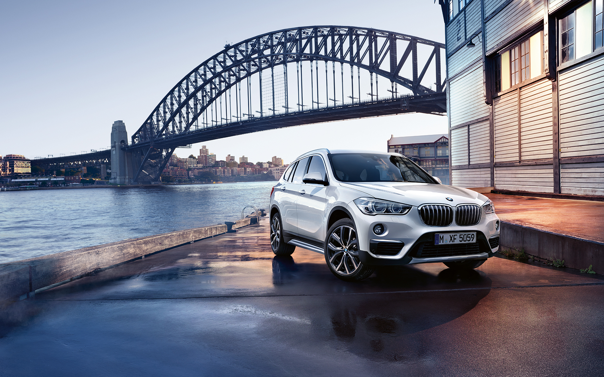 bmw x series x1 2015 wallpaper 04