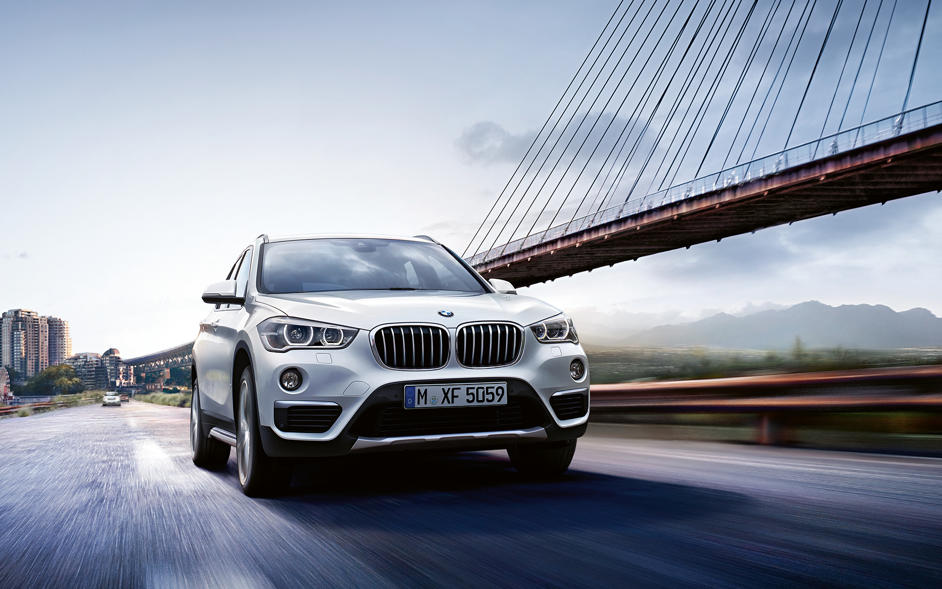 bmw x series x1 2015 wallpaper 08